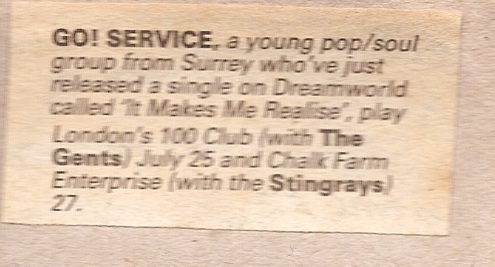 1985 Gig advert