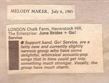 1985 M.M.gig guide