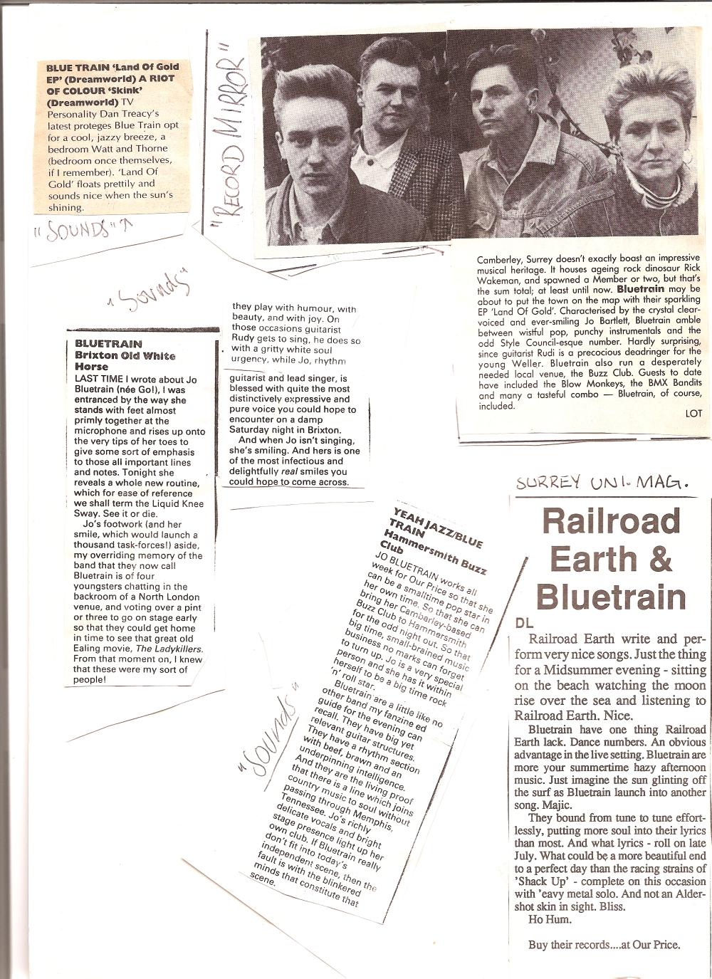 bluetrain press
