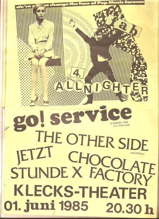 German gig poster