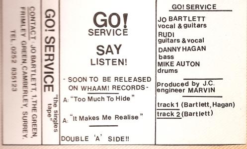 Go! Service cassette cover