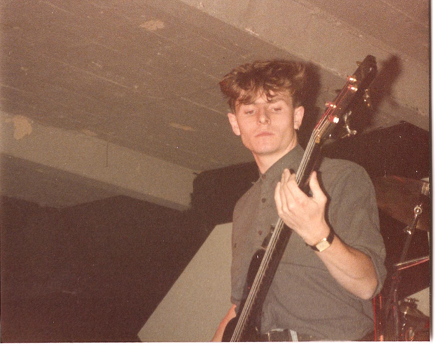 On stage European tour 198401