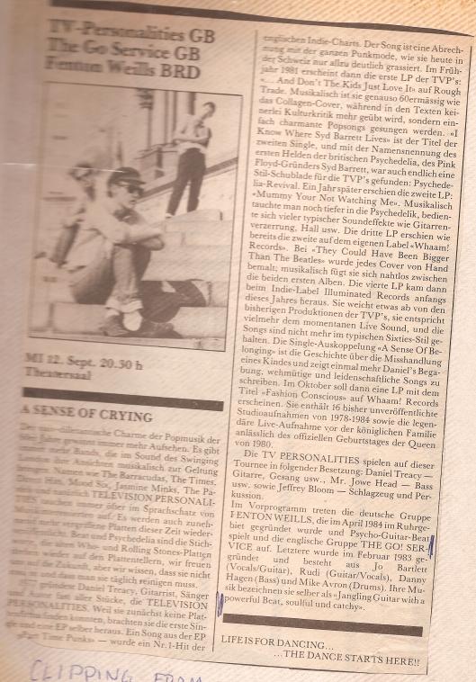 swiss paper 1984