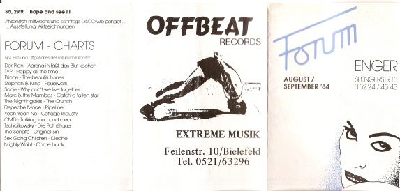 The Forum Germany 1984