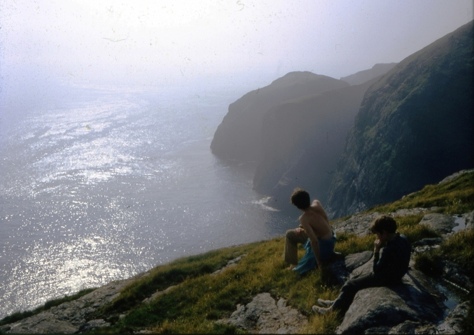 img 289 Cliffs of Mingulay, Sept 1970