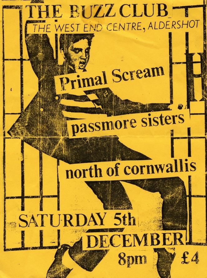 Primal Scream - West End Centre, Aldershot 051287