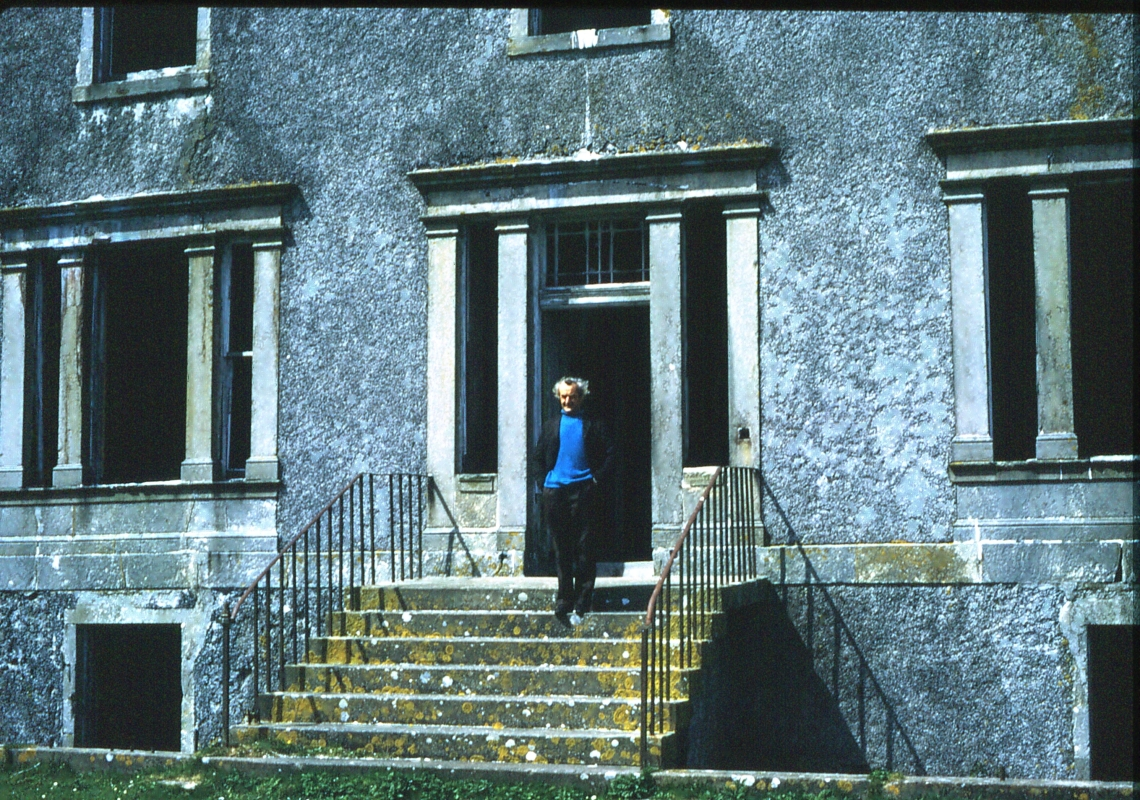 img 426 Eoligarry House, Once summer Residence of MacN. Jock. June 1974