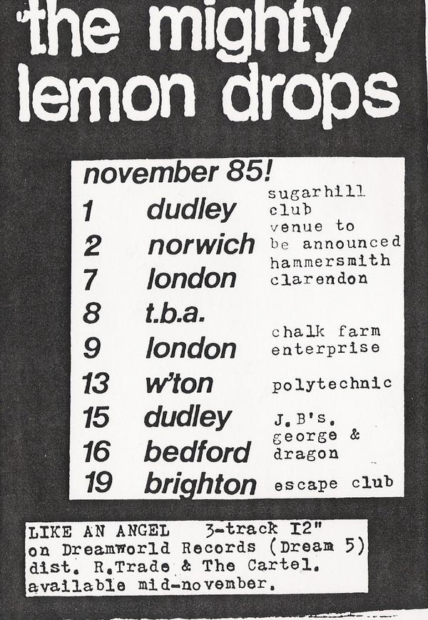 TMLD early gigs