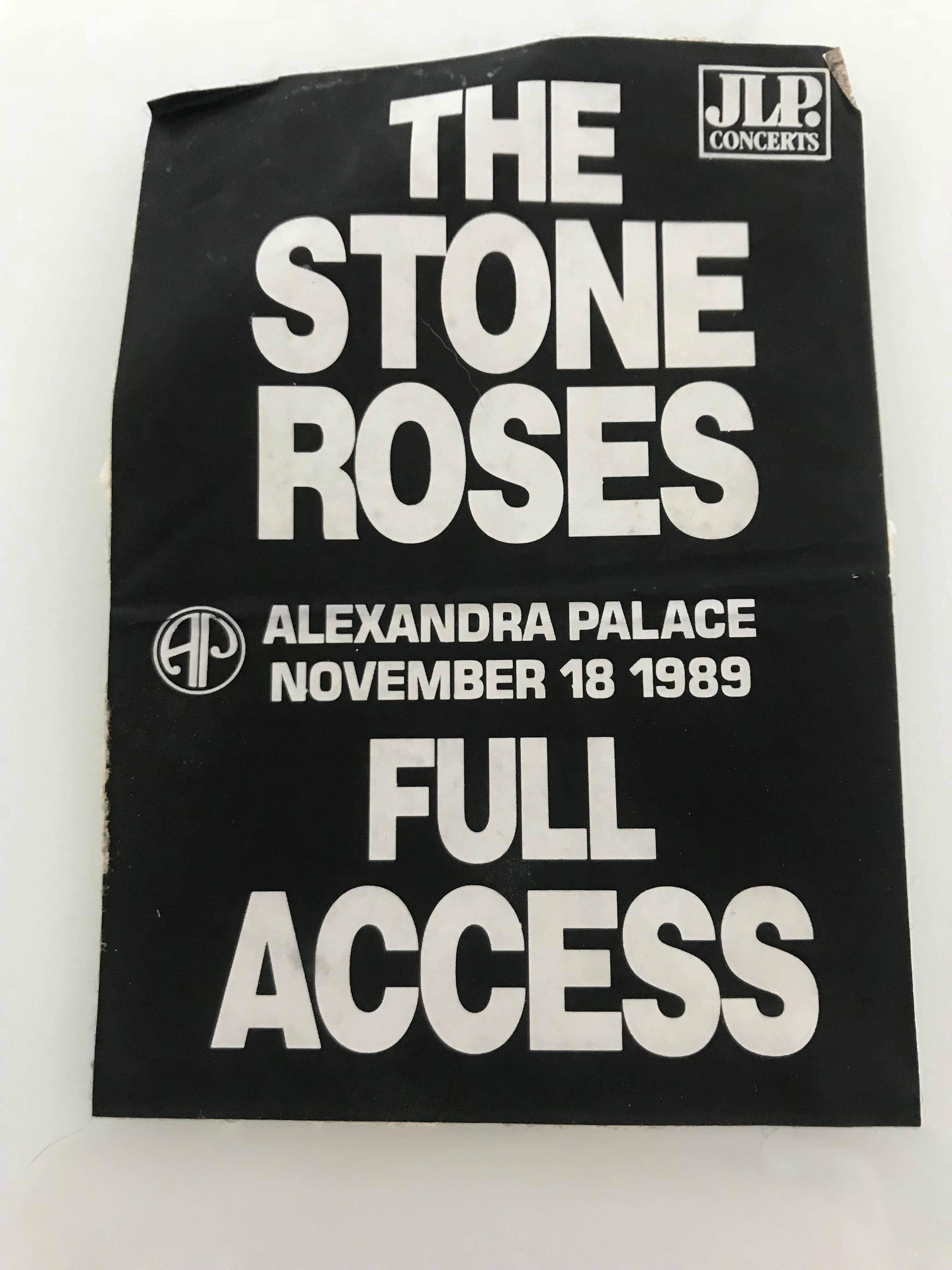 The Stone Roses All Things Nice Music Art Print Manchester