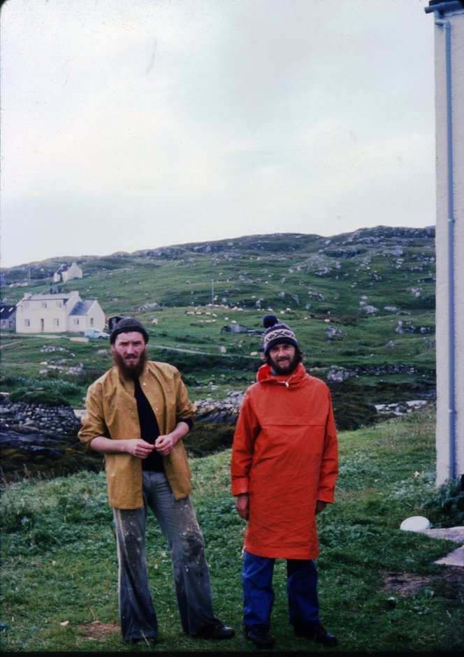 img 335 Michael and Seamus, Barra, Oct 1975