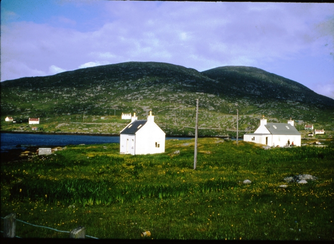 img 389 shore cottages, nos 1 and 2, horve , july 1979