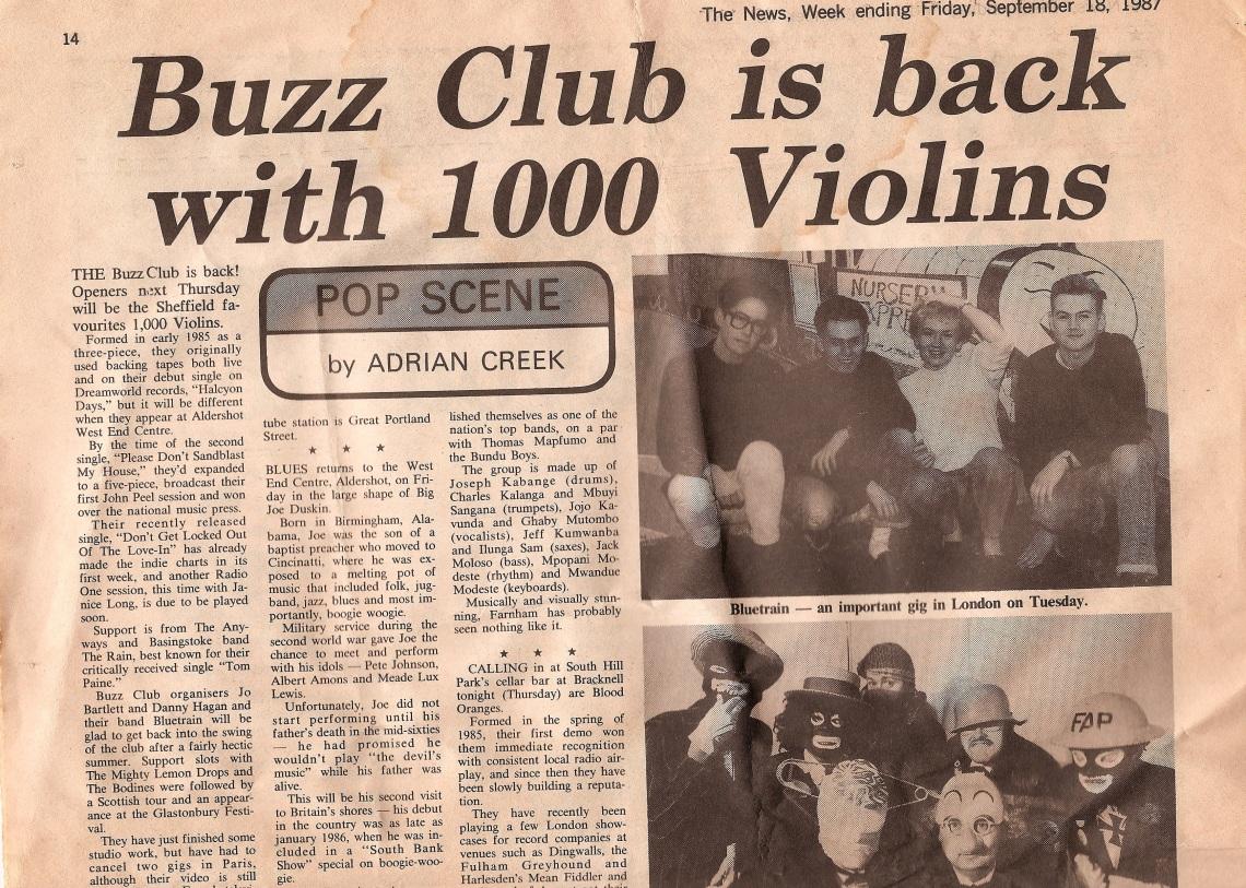 1987 Camberley News