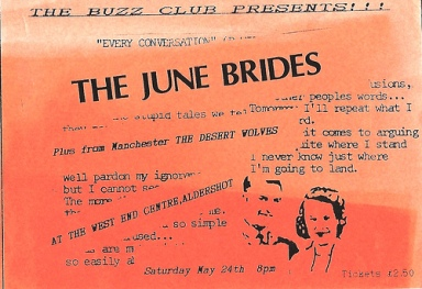 june brides flier