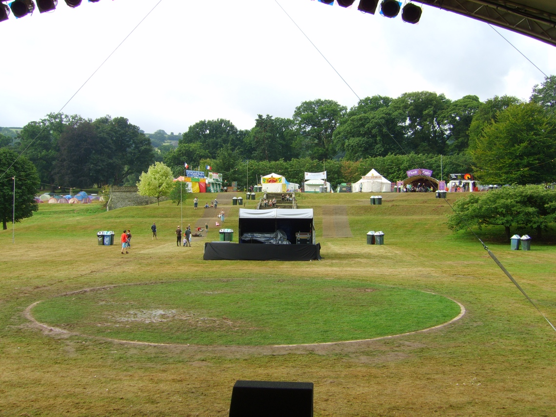 Green Man 2006 - view from main stage